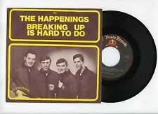 45 RPM SP THE HAPPENINGS BREAKING UP IS HARD TO DO (1968)