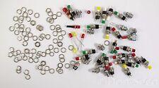 Konvolut 24 Miniatur Taster (R13-24 1,5A 250 VAC) + 1 Schalter (3A, 250 VAC)