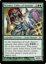 SHIZUKO, CALLER OF AUTUMN Betrayers of Kamigawa MTG Green Creature — Snake RARE