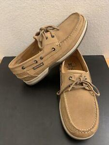 Mephisto Spinnaker Boat Brown Men's Shoes Size US 8.5 EU 8 MINT