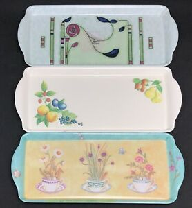 Coffee Tea Serving Tray Biscuit  Small Narrow Tray Teapot Afternoon Tea Party