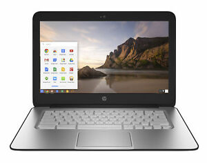 """HP Chromebook 14 14"""" (16GB, Intel Celeron N, 2.16GHz, 4GB) Notebook - Silver - …"""