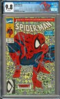 Spider-Man #1 CGC 9.8 White Pages Todd McFarlane Lizard NEW SPIDER LABEL