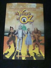 WIZARD OF OZ Special Edition movie poster Original 1998 DS One sheet