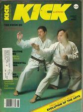 KICK ILLUSTRATED Magazine August 1982 8/82 TAE KWON DO MARTIAL ARTS