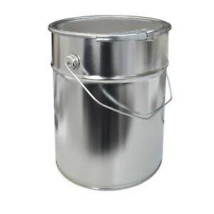 EIMER mit Spannringdeckel  10 Liter Metalleimer Blecheimer (23011)