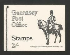 Guernsey 1970 2 shilling complete definitive booklet (13a, 14a, 28a) Mnh