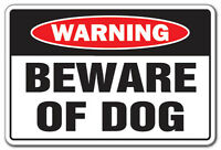Warning Sign - Attack Dog on Duty Sign Beware of Dog Sign