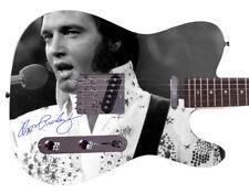 Elvis Presley Autographed Signed Custom Graphics Guitar