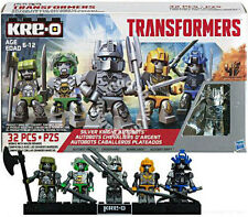 Kre-O Transformers Movie 4 Silver Knight Autobots Optimus prime Hound Drift UK