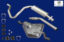 Auspuffanlage ab Kat Saab 9-3 900 II 2.0i , 2.3 Turbo & 2.3 -16 Auspuff