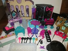 Monster High Dollhouse Furniture & Accessories Toy Lot