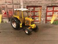 1988 Ford 5610 Rusty Weathered Custom 1/64 Diecast Farm Tractor Barn Find Dirty