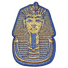 King Tut Tutankhamen Embroidered Iron on or sew on Patch/Applique Egyptian 2.75