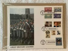Great Military Leaders FDC West Point 2002 New in Sealed Package
