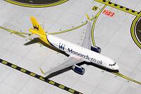 Gemini Jets Monarch Airbus A320-200 GJMON1430 1/400 REG# G-ZBAA. New