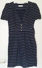 SESSUN SESSÚN robe dress robe Capri Taille L (M) 38 40 Comme Neuf Marine Bleu