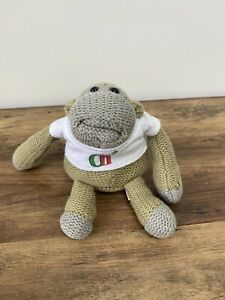 PG TIPS TEA MONKEY IN AN OFFICIAL PG TIPS T-SHIRT CHIMP Plush Teddy Soft Toy