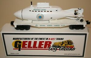 LIONEL OPERATING SUBMARINE CAR  NATIONAL SCIENCE FOUNDATION 3830