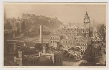 Midlothian postcard - Edinburgh from the Calton Hill
