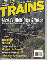Trains Magazine Back Issue May 2006 Alaska's White Pass & Yukon