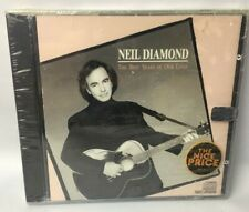 Neil Diamond The Best Years of Our Lives Cd - 12 Songs - Romantic & Sentimental