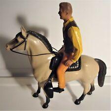 New ListingVintage 1960's Hartland Marshal Matt Dillon and His Horse Old Buck - Very Good