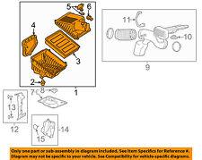 GM OEM Air Cleaner Intake-Filter Box Housing 23433913