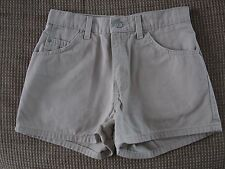 LEVI STRAUSS & CO 913 REGULAR FIT WOMEN'S BEIGE ZIP-UP SHORTS Size 5 Used NICE!!