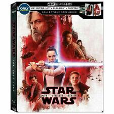 Star Wars: The Last Jedi (Digital + 4K + Blu-ray) BRAND NEW SEALED
