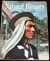 Walt Disney Studio Library w/ CHECK-OUT 1955 Natural History Magazine