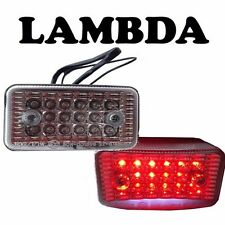 Tail Light Assembly LED with Clear Lens for Honda CT110 Postie Bikes