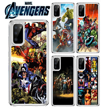 Marvel Avengers Comic Estuche Para Samsung Galaxy A10 A40 S10 Lite S20 A41 A51 A21s