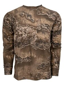 King's Camo Men's Realtree Excape Classic Cotton Long Sleeve Shirt