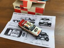 STARTER BMW M3 Rothmans & Toyota Celica GT Four resin rally cars 1:43rd scale