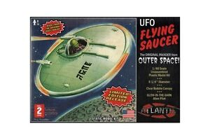 discontinued Atlantis re-release of lindberg's 1954 UFO Kit 1/48  #1003 sealed