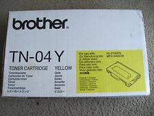 Genuine Brother TN-04Y Yellow Toner Cartridge for HL- 2700CN  MFC- 9420CN