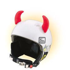 Teufelshörner Teufel Hörner Horn für Skihelm Ohren Rot Red Horn Helm Horns Ski