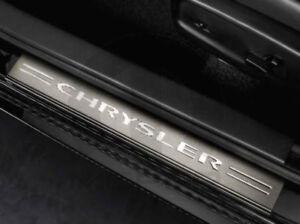 11-18 Chrysler 300 New Stainless Steel Door Sill Guards Mopar Factory Oem