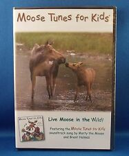 Brent Holmes MOOSE TUNES FOR KIDS Fun Tunes for Kids DVD Live Moose in the Wild!