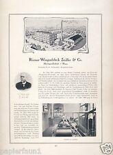 Waagenfabrik Zeidler Riesa XL Reklame & Historie 1923 11 Abb Waage Scales Ad