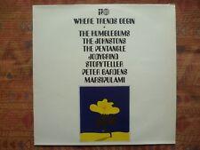 WHERE TRENDS BEGIN - Various Marsipulami & More ( LP - Transatlantic - Psych )