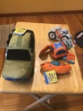 Chewbaru Outback Bark w/3 other toys, Pup Up Tent, Mutterbike, and Dog Paddler