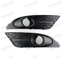 1Pair Front Fog Light Grill Surrounds For Ford Focus 2007 2008
