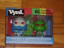 FUNKO Super Heroes Darkseid + Martian Manhunter VINYL NEW IN BOX