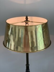 """Vintage French Empire Bouillotte Lamp Shade Brass Metal Tole 13"""" More Avaialble"""