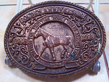 AWARD DESIGN MEDALS GOLDEN ANN MISSOURI FOXTROT HORSE UNFINISHED BUCKLE[717]