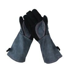 BBQ Gloves Barbecue Grill Heat Resistant Kitchen Oven Mitts  Welding Glove