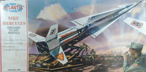 NIKE HERCULES GROUND TO AIR MISSILE ATLANTIS 1:40 SCALE PLASTIC MODEL KIT