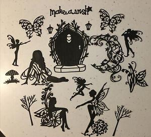 Fairy Door & Mixed Fairy Pack die cuts toppers fairy jars fairies